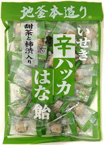 井関食品 甜茶柿渋入 はな飴 120g