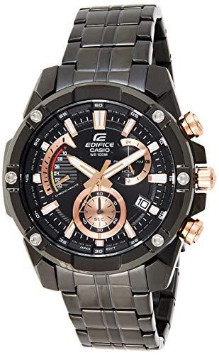 Casio Edifice Analog Black Dial Men's Watch-EFR-559DC-1AVUDF (EX428)