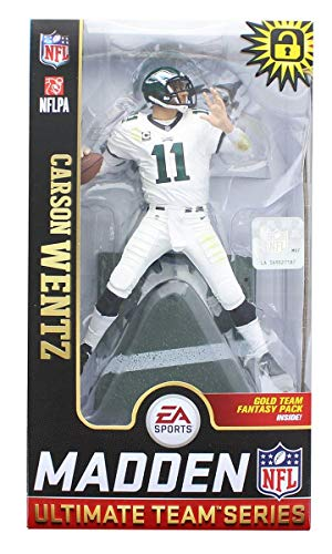 McFarlane Toys EA Sports Madden NFL 19 Ultimate Team Carson Wentz Philadelphia Eagles
