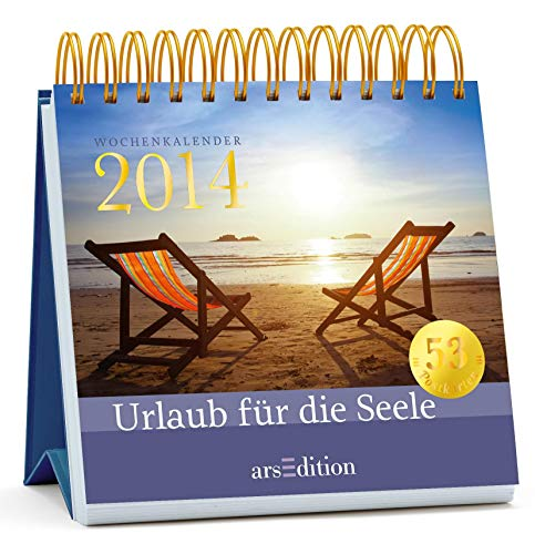 Urlaub für die Seele 2014: Postkartenkalender