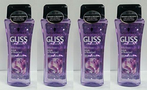 Schwarzkopf gliss hair repair with liquid keratin asia straight shampoo...
