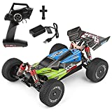 WLtoys RC Car Buggy Racing,1:14 Scale Remote Control Car 60+ KMH 4WD Off Road Trucks Toys Buggy Racing Car Gifts for Boy & Adults (144001-G)