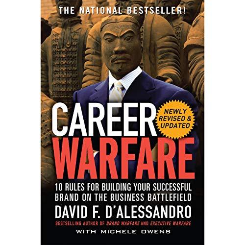 Career Warfare audiobook cover art