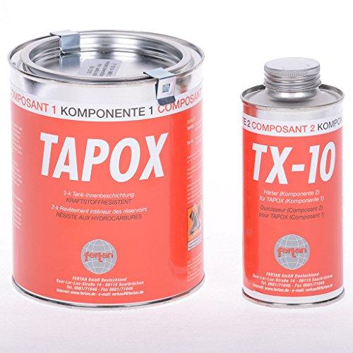 Tank-Innenbeschichtung Fertan 2-K Epoxy Set 540 Gramm