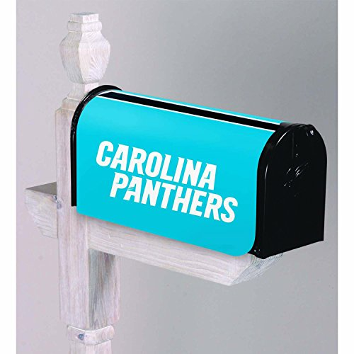 Team Sports America NFL Carolina Panthers 2MBC3804Carolina Panthers, Mailbox Cover, Blue