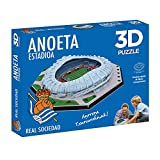 ELEVEN FORCE Puzzle Estadio 3D Anoeta (Real Sociedad) (63485), multicolor, ninguna (1)