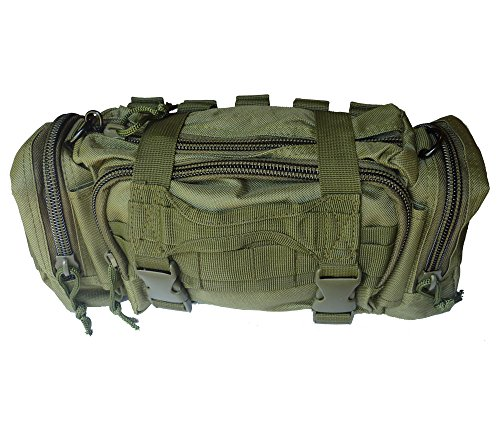 Renegade Survival First Aid Kit By for Camping and Hiking or Home and Workplace. It Is a Complete Kit for the Prepper Who Wants the Best Tactical Gear (OD Green)