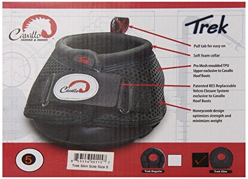 Cavallo Trek Slim Sohle Boot, Größe 1, schwarz