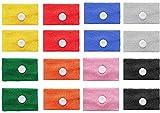 iwobi 8 pezzi anti-nausea braccialetti,bande di cinetosi di movimento per mal di macchina, mal di mare,agopressione nausea relief braccialetti