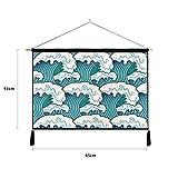 mmzki Einfache japanische und Windmalerei Schlafzimmer Baumwolle Leinen Kunst Dekoration Malerei U...