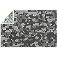 AyuStyle ラグ ラグマット 迷彩柄 絨毯 カーペット リビング対応 長方形 薄型 シーズン おしゃれ 洗える 150cm×200cm 滑り止め