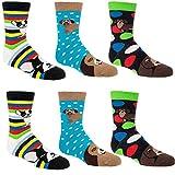 Socks 4 Fun Kinder Socken,6 Paar,27/30,Lustige H&e/Jungen