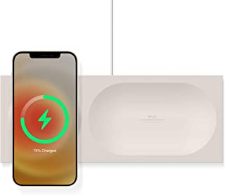 elago MS Charging Tray Compatible with MagSafe Charger - Magnetic Wireless Charger Tray, Compatible with iPhone 12 Models ...