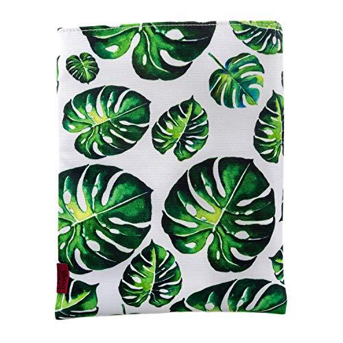 Libro manga árbol hojas libro protector medio 10 pulgadas x 20 pulgadas lienzo libro mangas adolescentes regalos