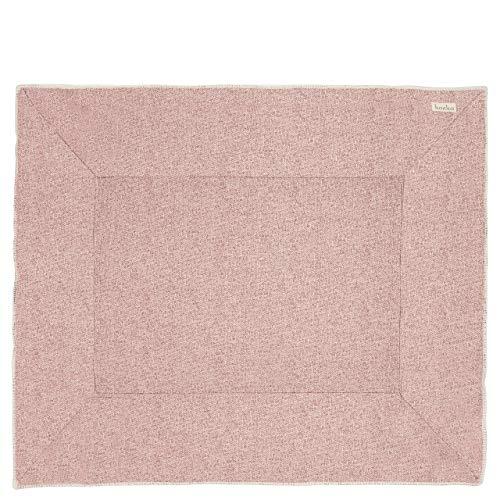 Koeka - Laufstalldecke Vigo - Baby Krabbeldecke - Laufgittereinlage Aus Jacquard-Strickstoff - Pink/Grau - 80X100 Cm