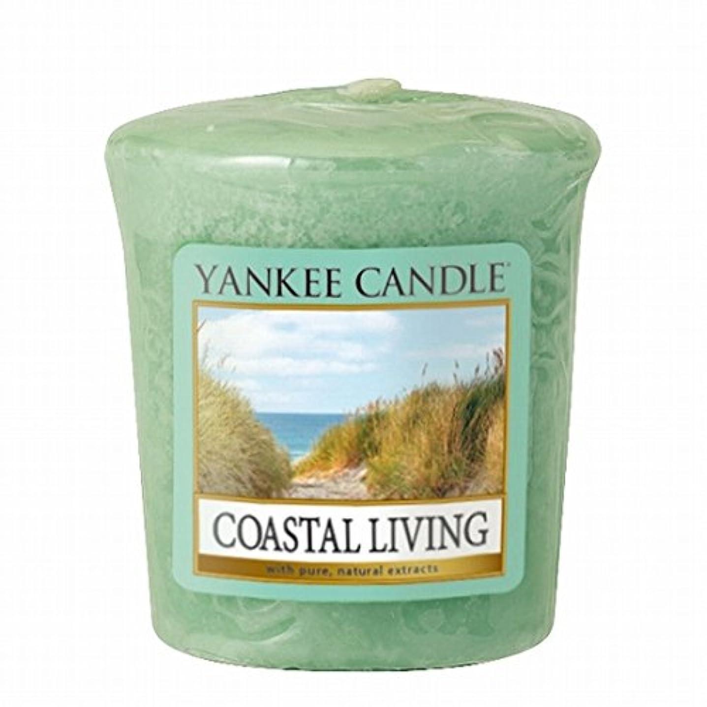 裏切り汚染定規YANKEE CANDLE(ヤンキーキャンドル) YANKEE CANDLE サンプラー 「コースタルリビング」6個セット(K00105292)