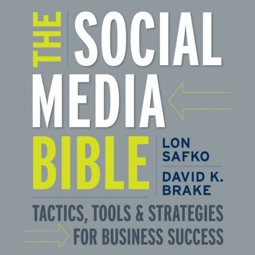 The Social Media Bible audiobook cover art