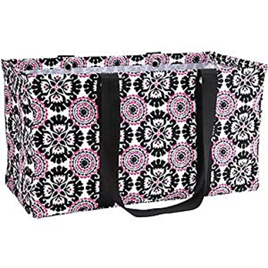 Thirty ONE Large Utility Tote Pink POP Medallion