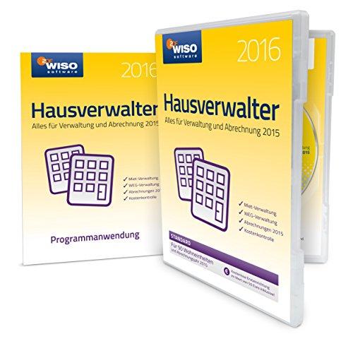 WISO Hausverwalter 2016 Standard (Frustfreie Verpackung)