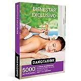 DAKOTABOX - Caja Regalo mujer hombre pareja idea de regalo - Bienestar exclusivo - 5000 actividades como masajes hot stone, envolturas con oro y circuitos de spa