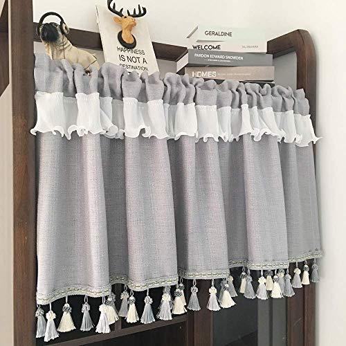 cortinas lino cortas