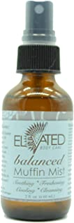 Elevated (by Taylor's) Muffin Mist - All Natural Feminine Spray - Soothing, Freshening, Cooling - Made in USA! … (Balanced)