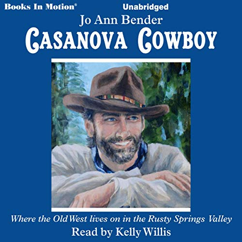 Casanova Cowboy audiobook cover art