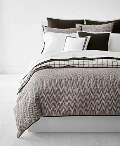 Ralph Lauren Bedding Dorian Herringbone 3-Pc. Full/Queen Duvet Cover Set