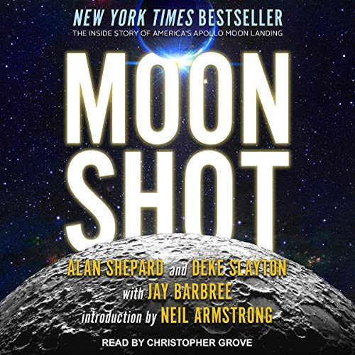 Moon Shot     The Inside Story of America's Apollo Moon Landings              De :                                                                                                                                 Alan Shepard,                                                                                        Deke Slayton,                                                                                        Jay Barbree,                   and others                          Lu par :                                                                                                                                 Christopher Grove                      Durée : 13 h et 55 min     Pas de notations     Global 0,0