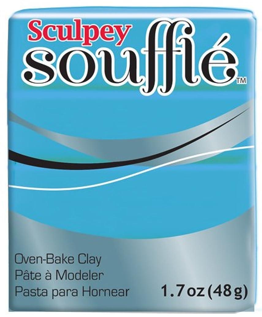 Polyform SU6-6652 Sculpey Souffle Clay, 2-Ounce, Robins Egg