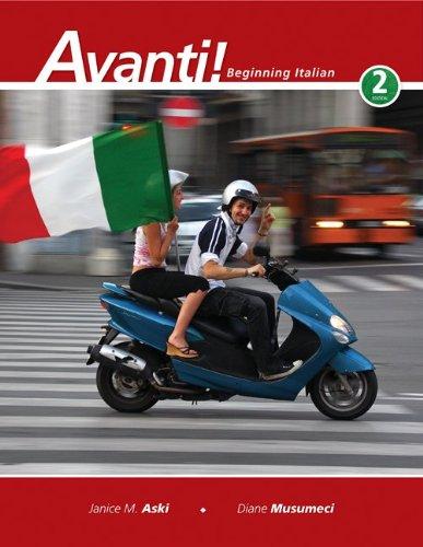 Avanti!: Beginning Italian, 2nd Edition