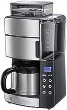 Russell Hobbs Grind&Brew Digitaal Koffiezetapparaat (incl. Thermos Kan), Programmeerbare Timer, Geïntegreerde Koffiemaler,...