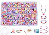 Jewellery Making Kit- Beads Set for Kids Adults Children Craft DIY Necklace Bracelets Letter...