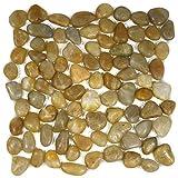 Polished Amber Pebble Tile 1 sq.ft