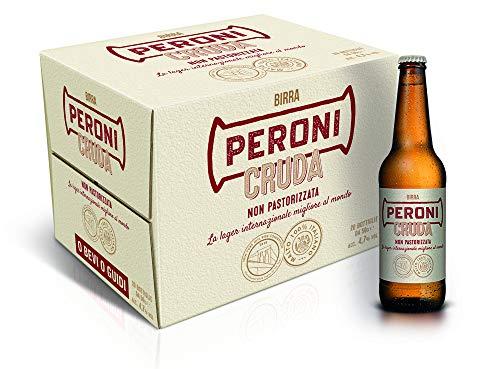 Birra Peroni Cruda - Cassa da 20 x 50 cl (10 litri)