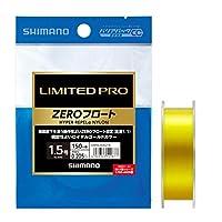 シマノ(SHIMANO) ライン リミテッドプロ ハイパーリペルα ナイロン ZEROフロート 150m 1.5号 ロイヤルゴールド 釣り糸