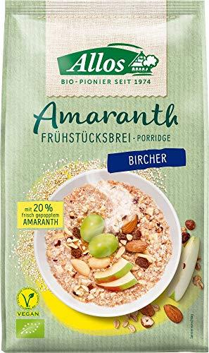 Allos Bio Amaranth Frühstücksbrei Bircher (6 x 400 gr)