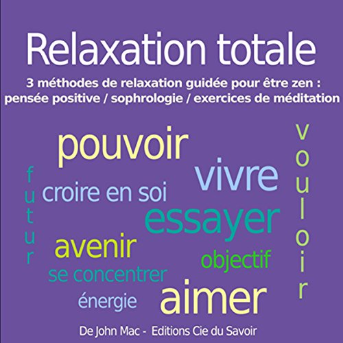 Relaxation totale audiobook cover art