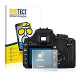 BROTECT Protector Pantalla Anti-Reflejos Compatible con Canon EOS 400D (2 Unidades) Película Mate Anti-Huellas