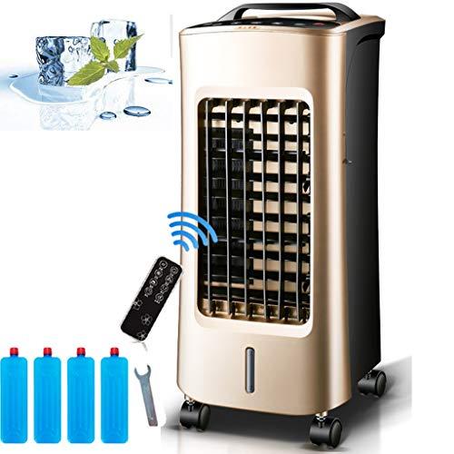 Verdampingskoeler en verwarming, mobiele airconditioners met bevochtiging en luchtreinigingsfunctie (LED-paneel / 24-uurs timer / afstandsbediening) Draagbare airconditioning voor slaapkamer, kantoor, slaapzaal