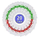 Joody Soluzione tampone PH Polvere,20 Pezzi Polvere di Soluzione tampone PH, PH 4.01 6.86 ...