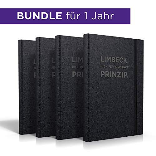 Bundle 4 LIMBECK. HIGH PERFORMANCE. PRINZIP. für 1 Jahr | Kalender, Planer, Mentor, Zielmanager