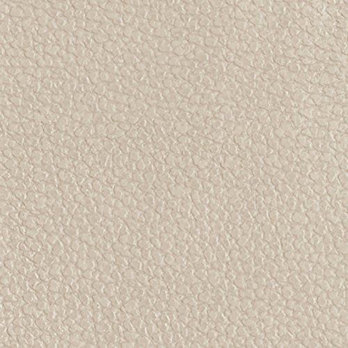 Venilia Klebefolie Leder Optik Taupe Dekofolie Möbelfolie Tapeten selbstklebende Folie, PVC, beige, 45cm x 1,5m, 350µm (Stärke: 0,35 mm), 53209, 45 x 150 cm