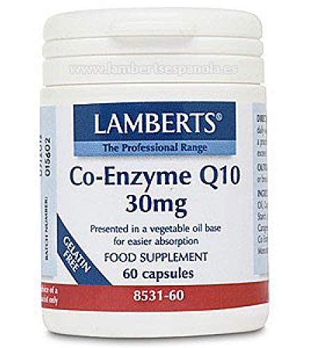 Lamberts Co Enzima Q10 100mg - 60 Tabletas