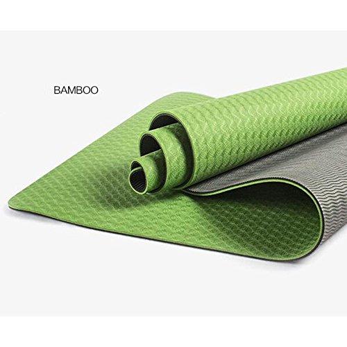 Ambientali Elevate Antiscivolo tappetini Elastici TPE di Yoga, Sette Colori Opzionale
