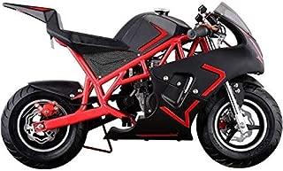 SYX MOTO Red/Black Kid Pocket Bike Dirt Pitbike Mini 40cc Gas Power Bike Ride-on Bikes Ride-on Toys