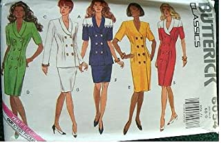 Butterick Classics Pattern 6054 Misses Dress, Top and Skirt with Variations Size 12-16 Easy to Sew
