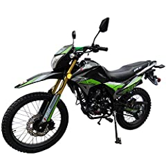 "Hawk DLX 250 EFI Dirt Bike brought by Moto Pro. 5-Speed Manual Transmission, Kick Start/ Electric Start, Front and Rear Hydraulic Disc brakes. Front 21 and Rear 18 Fat Tire, More Traction! Big Wheel, Huge Size at 84""(L) x32""(W) x 55""(H) provide the r..."
