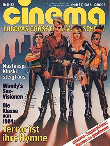 Cinema Nr. 11/1982 Die Klasse von 1984: Terror ist ihre Hymne