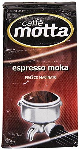 Motta - Espresso Moka, Fresco Macinato - 250 G